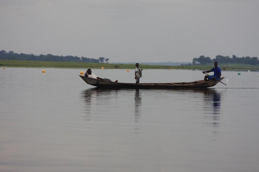 Volta Lake fisherman