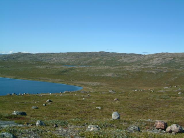 Area of confluence from Mt. Evans