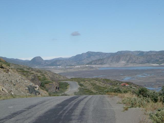 On the road back to Kangerlussuaq