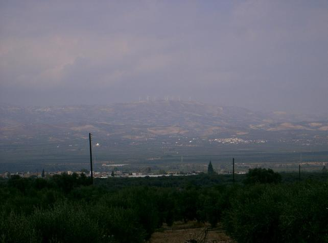 Distant view of Vagionia