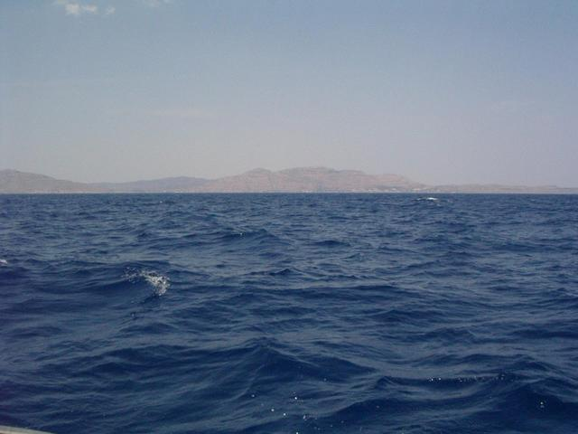 Looking North towards Lindos