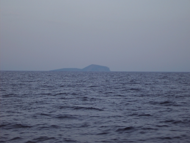 Looking east, island Kinaros
