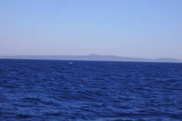 Looking south-east, cape Killíni, Pelopónnisos
