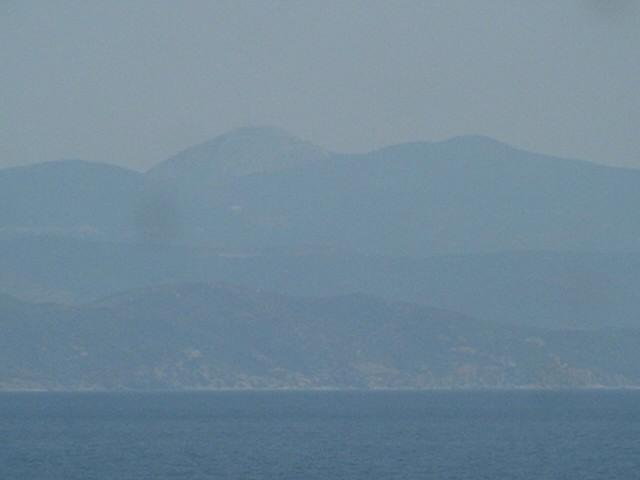 Óros Olimbos, the highest mountain of Lesbos