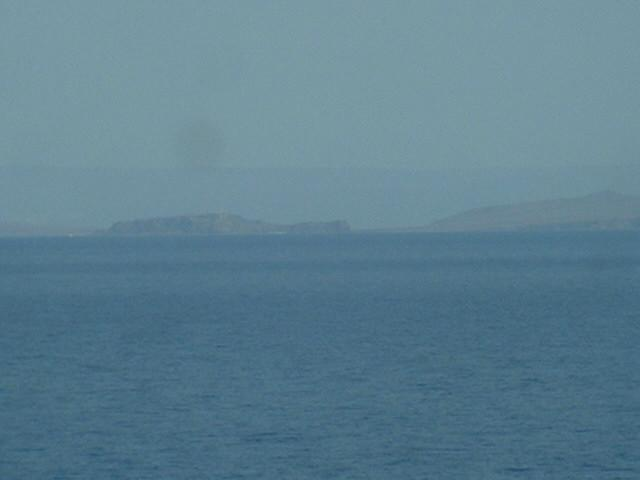 View to NE from the confluence with Kalloni Islet in front of the Gulf of Kallonís