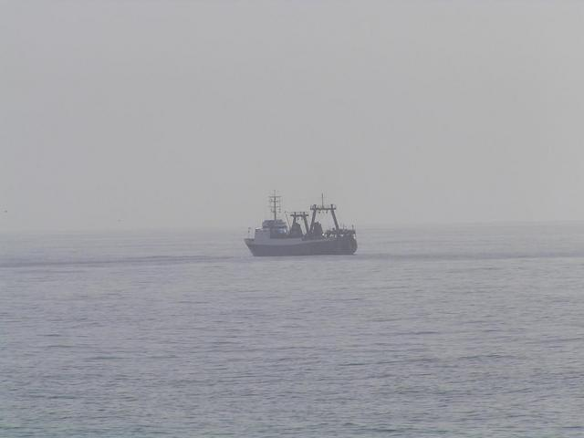 A Russian trawler 2 miles east of the Confluence