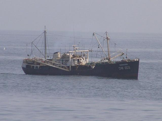 "The Senegalese beam trawler ""Barracuda"""