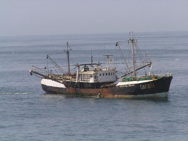 "The Senegalese beam trawler ""Marcantonio Bragadin"" southwest of the Confluence"