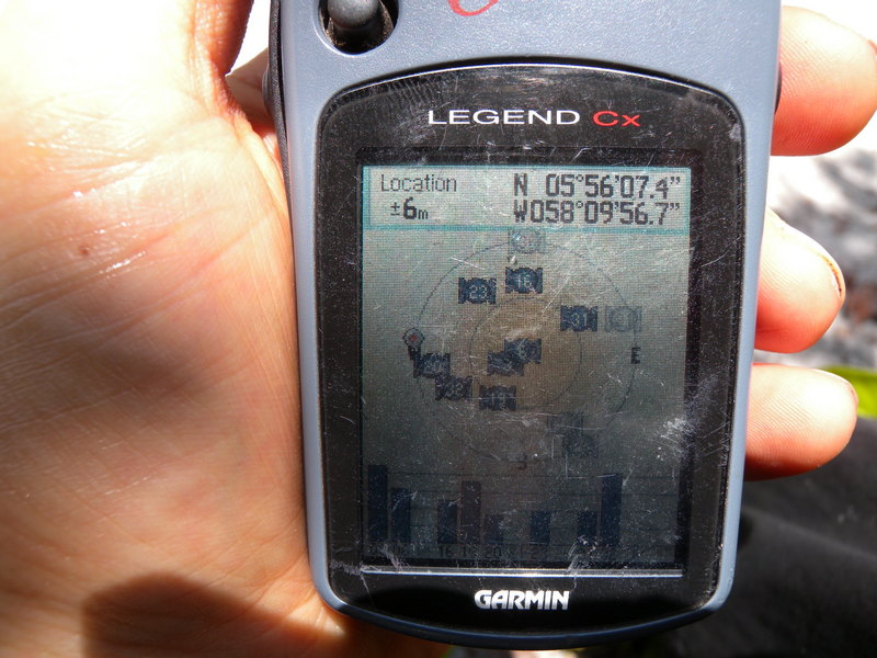 GPS Reading at the Point of Return