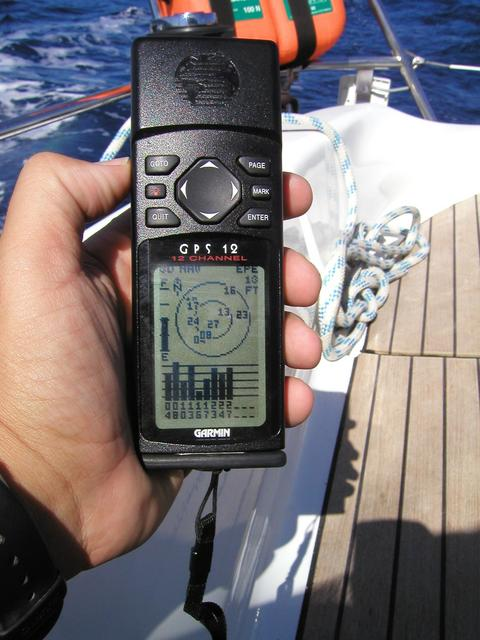 good GPS conditions: accuracy of 13 feet