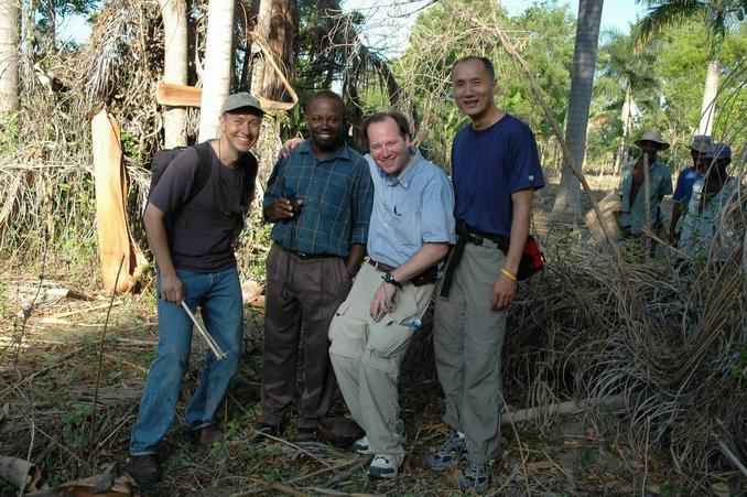 Happy hunters - John, Maxi, Matt, and Ray