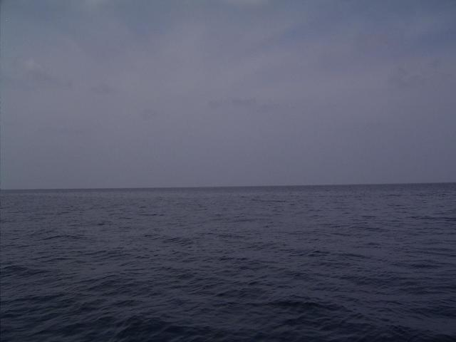 View of water due south from the CP.