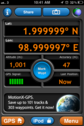 #5: GPS screenshot at the confluence