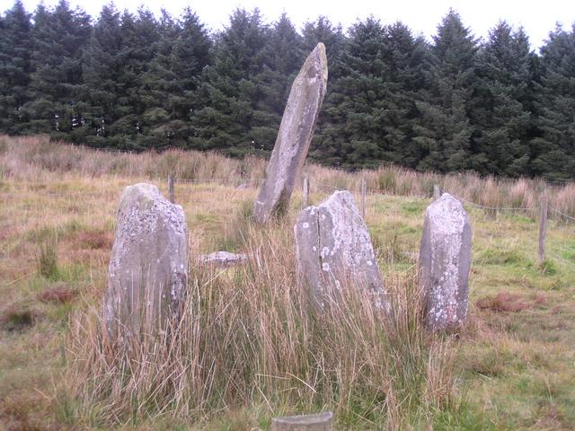 Knocknakilla stone circle