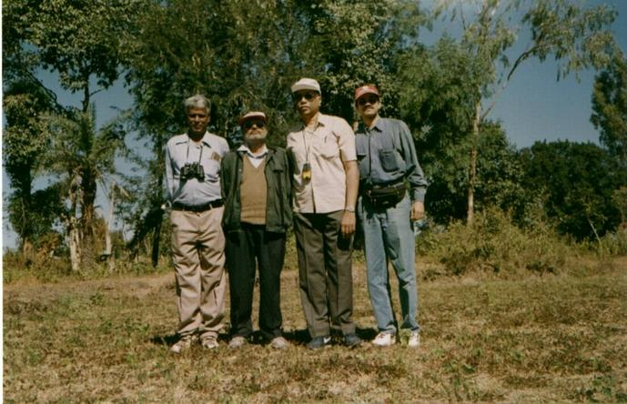 Nath, Mohan, Jagan & Lakshman at 13N76E
