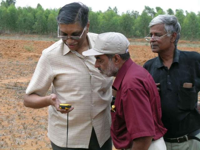 Jagan, Mohan & Nath looking for all-zeros at 13N78E
