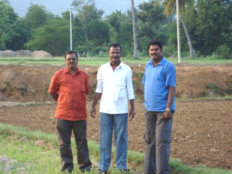 Mr.Ganesh, Myself & Mr.Gopi