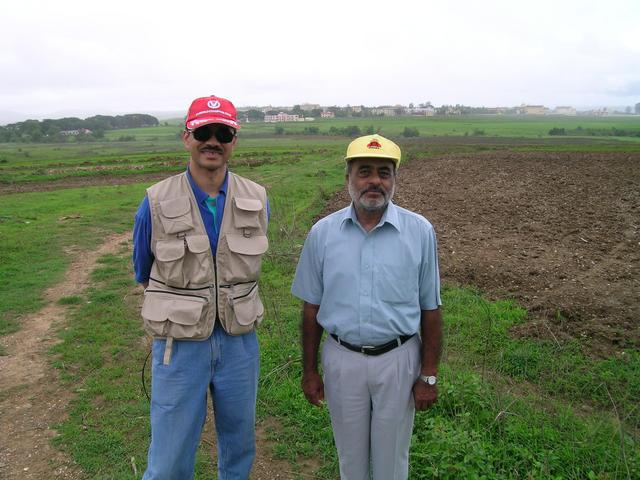 Lakshman and Mohan at 15N 75E
