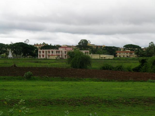 Monastry buildings seen from 15N 75E