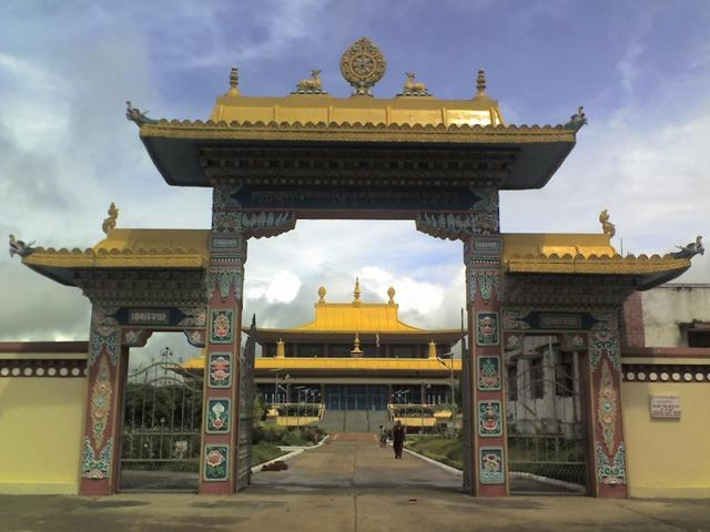 Tibetan settlement at Mundgod