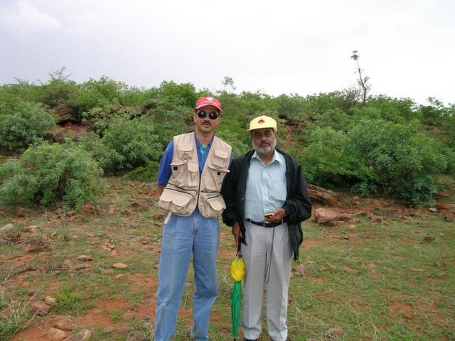 Lakshman and Mohan at 16N 75E