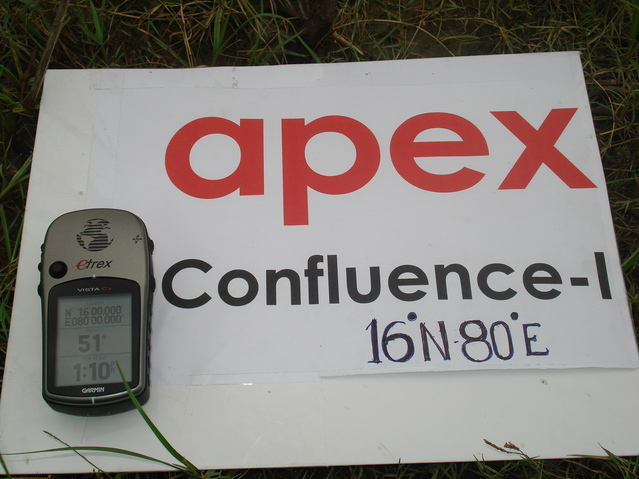 GPS reading @ apex confluence-I