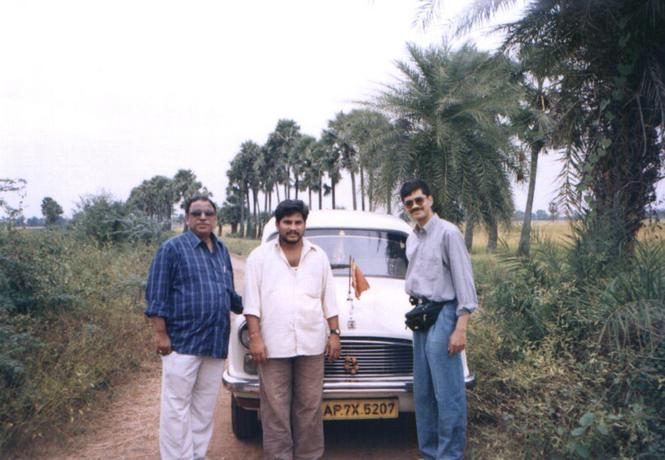 The team: Anand, Srinivas & Lakshman