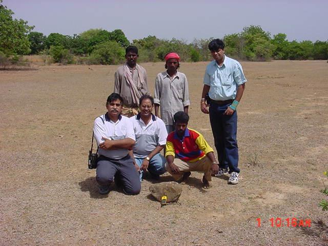 The Team(2) - with Chandra, Pavan, Anupam & the locals