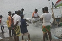 #3: Fishermen emptying the nets