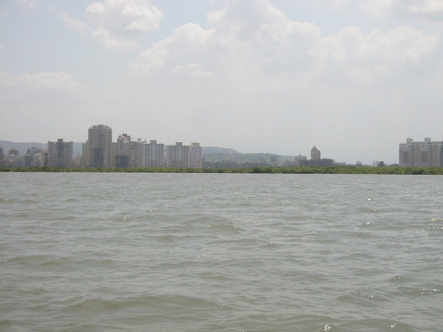 General view of the confluence point
