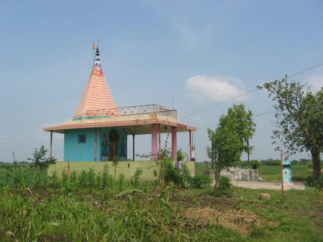 A nearby Temple