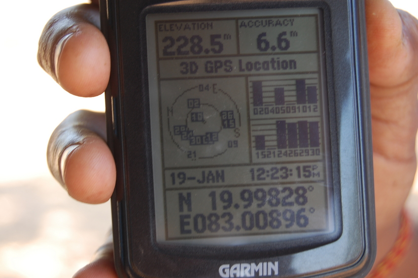 Garmin reading of aborted attempt