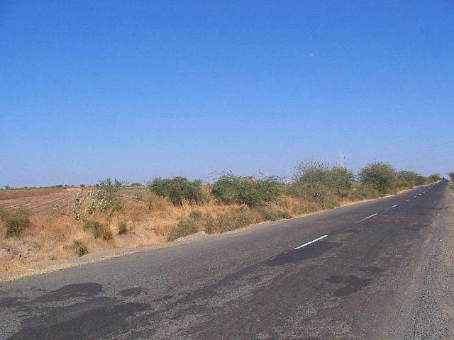 Confluence point lying towards left side