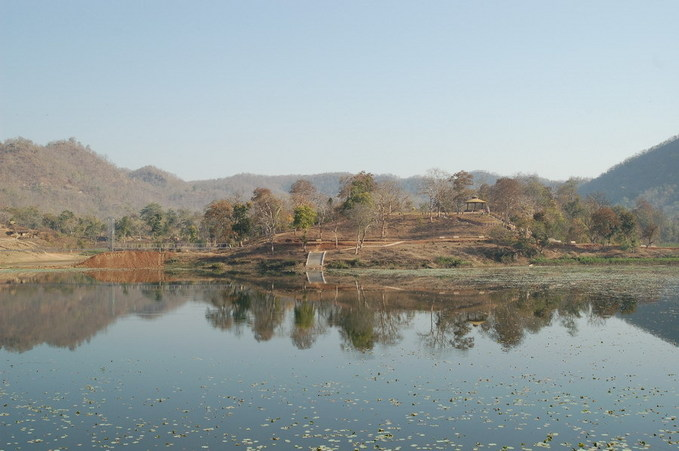 Lake at Borom Deo 18 km from CP