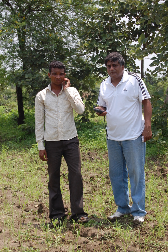 Anil Kumar Dhir with  chanda dev