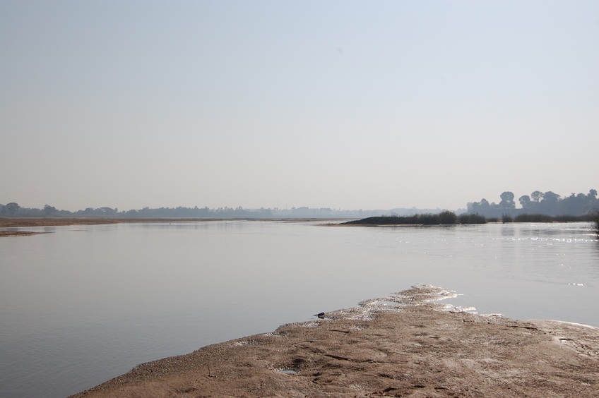 Eastern view  from the Confluence Point