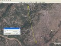 #4: Google Earth shows the closest approach as 1.68 km