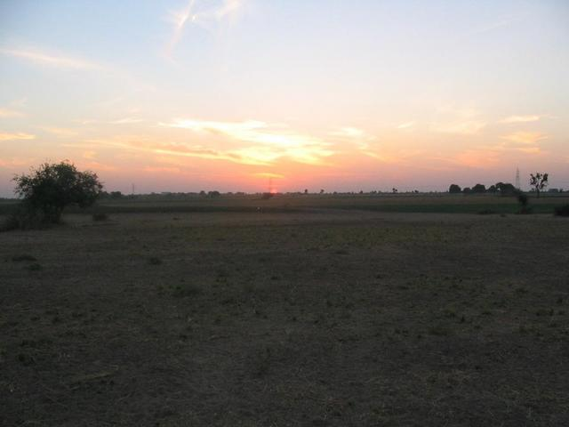 Sunset at CP 23°N 72°E