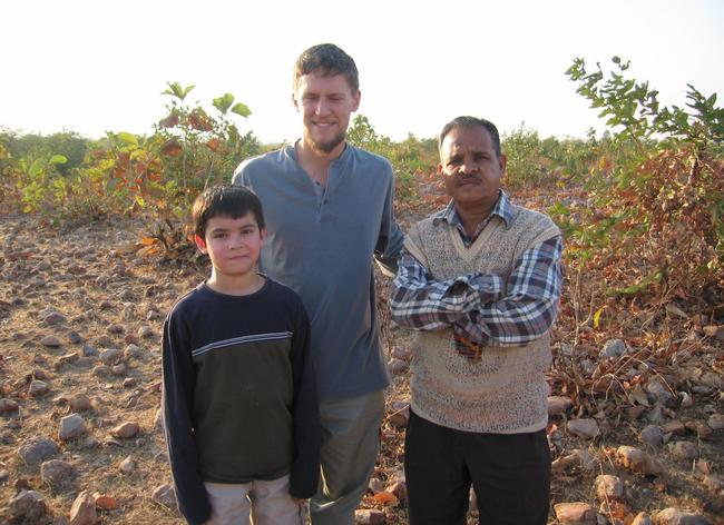 Austin, Steve, and Indravadan who also participated in the adventure