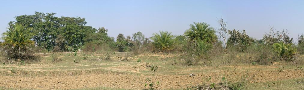Panoramic view to confluence – North