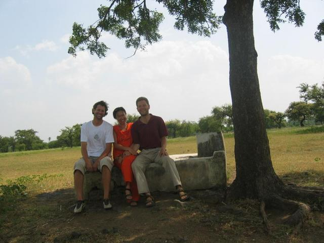 Guang, Joko and Rainer at the Confluence