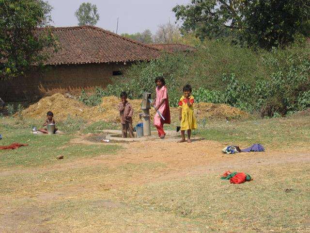 Residents of nearby Panpatha Village