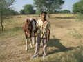 #6: Veejay, after asking me to ride his horse, but before asking me to have some lunch with him.