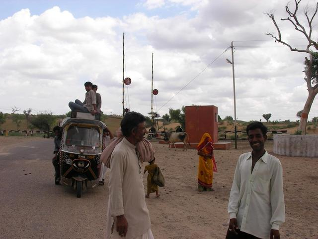 Rickshaw Driver (bottom right)