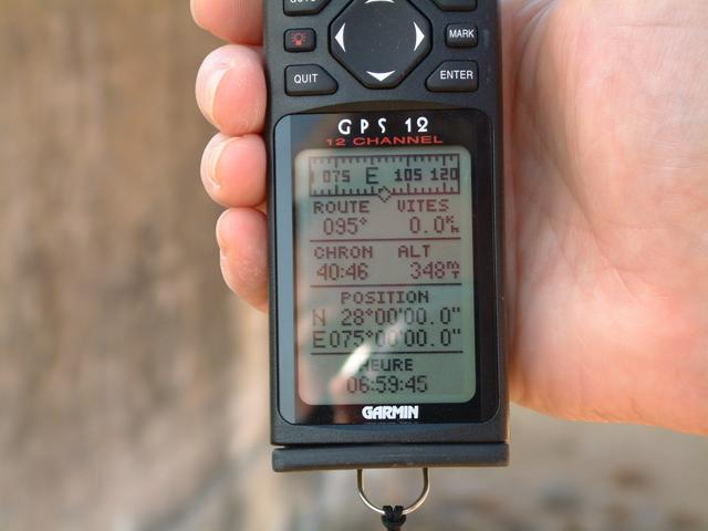 GPS at point