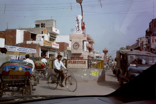 Atlas Cycle roundabout in Sonipat
