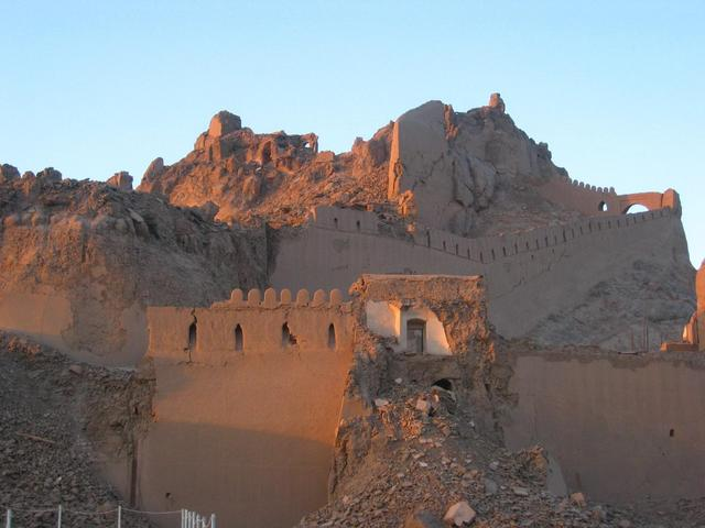The castle of Bām (Arg-e Bām)