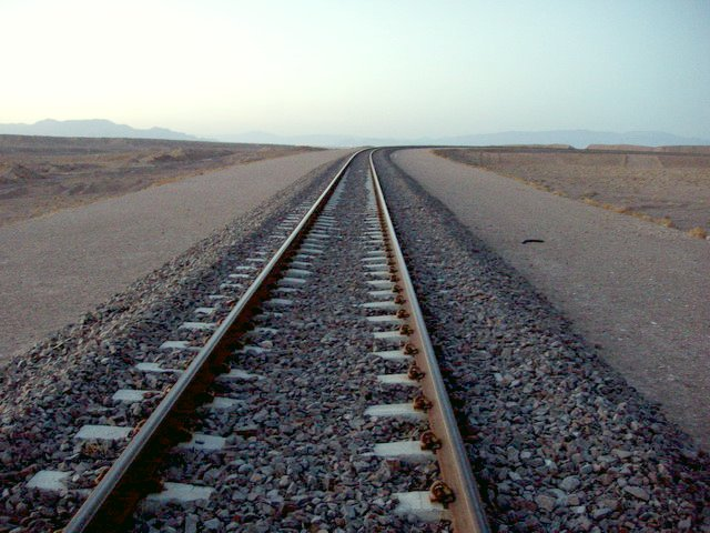 Recently constructed railway
