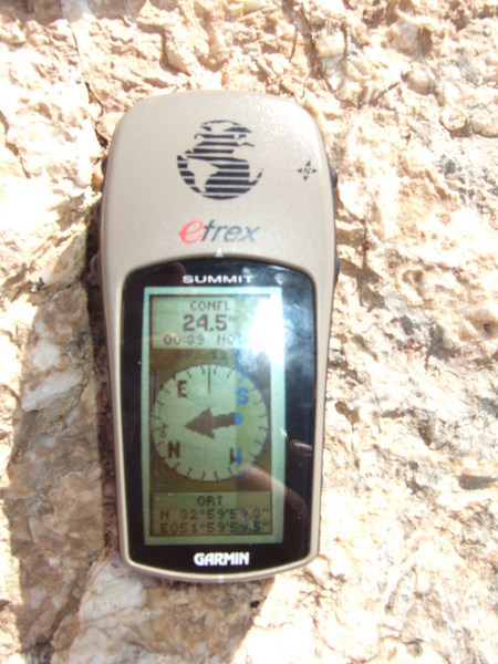 View of GPS from closest point