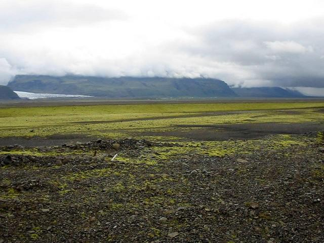 View east from dam